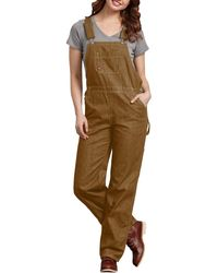 Dickies Bib Overall - Brown
