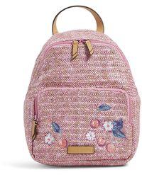 Vera Bradley Straw Backpack - Pink