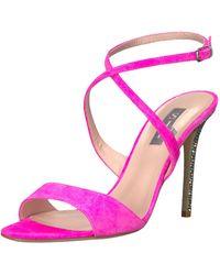 SJP by Sarah Jessica Parker Elektra Open-toe Strappy Sandal - Pink