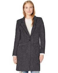 Cole Haan - Single Breast Classic Houndstooth Jacket - Lyst