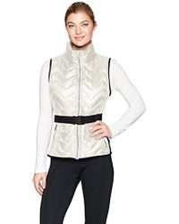 Calvin Klein - Performance Belted Quilted Vest - Lyst