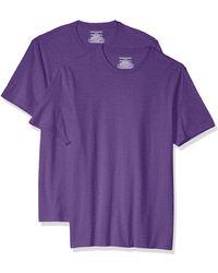 Amazon Essentials - 2-Pack Slim-Fit Short-Sleeve Crewneck T-Shirt Fashion-t-Shirts - Lyst