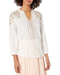 Plenty by Tracy Reese Embroidered Kurta - White