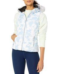 Calvin Klein Polyfill Printed Puffer Vest - Blue