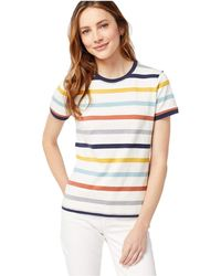 Pendleton Deschutes Short Stripe Ringer Tee - Multicolor