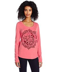 Lucky Brand - Flock Of Circle Tee - Lyst