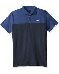 DKNY Boys Big Classic Polo Shirt