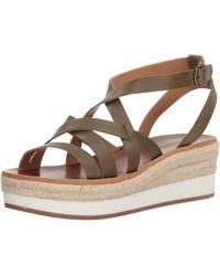 Lucky Brand Jenepper Platform Wedge Sandal - Multicolor