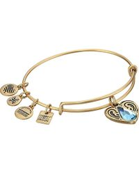 ALEX AND ANI - Charity By Design Living Water Ii Bangle Bracelet - Lyst
