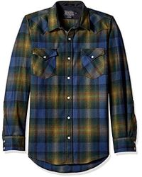 Pendleton - Long Sleeve Button Front Fitted Canyon Shirt - Lyst
