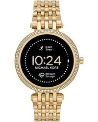 Michael Kors Darci Gen5e Stainless Steel Touchscreen Smartwatch - Metallic