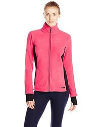 Marc New York Colorblock Polar Fleece Jacket - Pink