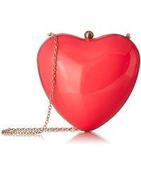 Betsey Johnson - Hearts Don't Lie Hard Case Crossbody - Lyst