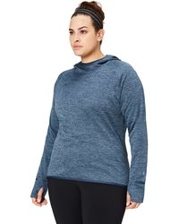 Core 10 Plus Size Be Warm Thermal Fitted Run - Blue