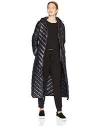 BCBGeneration Full Length Down Coat - Black