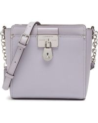Calvin Klein Camille Organizational Daytona Crossbody - Purple