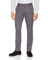 Amazon Essentials - Slim-fit Wrinkle-resistant Flat-front Chino Pant - Lyst