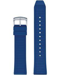 Citizen Cz Smart 22mm Smartwatch Blue Silicone Interchangeable Strap
