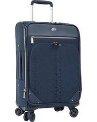 "Vince Camuto 24"" Expandable Spinner Luggage - Blue"