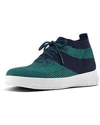 Fitflop Uberknitslip-on High Top Sneaker - Blue