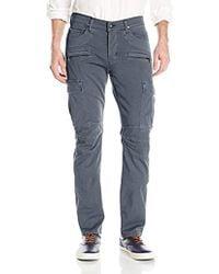 Hudson Jeans - Greyson Slim Fit Cargo Biker Pant - Lyst