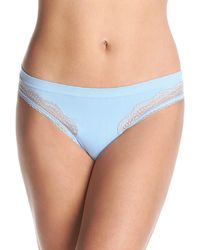 Maidenform Casual Comfort Thong - Blue