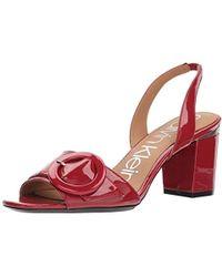 e51020b96883 Lyst - Women s Calvin Klein Sandal heels On Sale