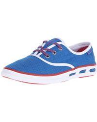 Columbia Vulc N Vent Lace Canvas Ii Casual Shoe - Blue