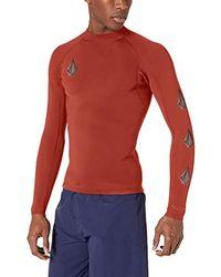 Volcom Stone Neo Wetsuit Jacket - Red