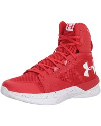 Under Armour Highlight Ace Volleyball Shoe - Red