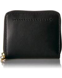 Cole Haan Zoe Small Zip Wallet - Black