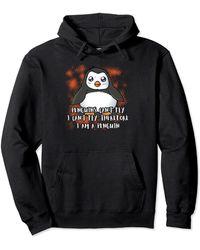 Original Penguin Penguin Penguin Lover And Enthusiast Pullover Hoodie - Black