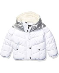 Steve Madden Girls Girls' Big Bubble Jacket - Multicolor