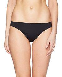 8dec987128 Freya Freya Cha Cha Rio Skirted Bikini Bottom in Black - Lyst