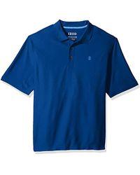 Izod - Big And Tall Performance Golf Southwind Fashion Polo - Lyst
