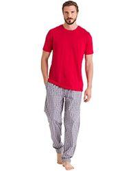 Hanro - Night And Day Short Sleeve Shirt - Lyst