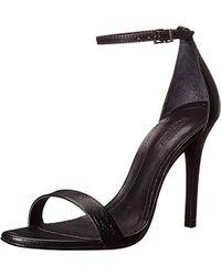 Schutz Cadey-lee High Heel Dress Sandal - Black