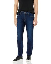 PAIGE Federal Slim Straight Leg Jean - Blue