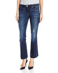 Hudson Jeans - Mia Five-pocket Crop Flare - Lyst