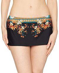 Kenneth Cole - Skirted Hipster Bikini Swimsuit Bottom - Lyst