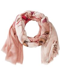 Vince Camuto - Anemone Flower Tissue Wrap - Lyst