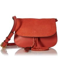 Vince Camuto Cory Belt Bag - Red