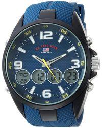 U.S. POLO ASSN. Analog-quartz Watch With Rubber Strap - Blue