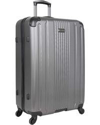 Kenneth Cole Reaction Gramercy Collection Lightweight Hardside 4-wheel Spinner Luggage - Metallic