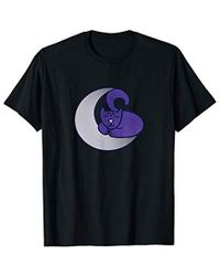 c382dfc46 Caterpillar S Moon Cat Artwork Cat Witch Design V-neck T-shirt