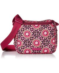 Vera Bradley Signature Cotton Stay Cooler Lunch Bag - Red