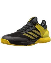 35278a9c0 Lyst - adidas Originals Adizero Ubersonic 2 Tennis Shoe in Blue for Men