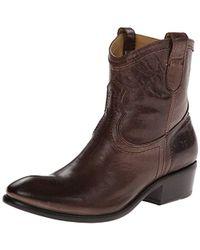 Frye - Carson Shortie Ankle Boot - Lyst