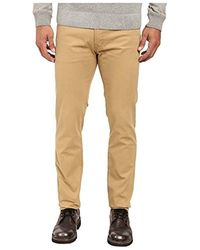 U.S. POLO ASSN. Corduroy Skinny Fit 5 Pocket Jean - Natural