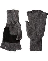 Levi's - Heathered Knit Fingerless Gloves - Lyst
